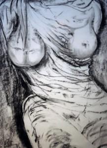 schoonheid in houtskool - 2013 - houtskool - Gert Kruiswijk